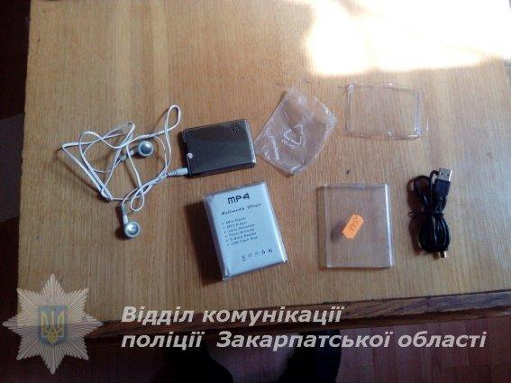 Закарпатські правоохоронці затримали заповзятливого крадія: фото, фото-1