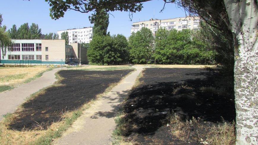 Одна из мелитопольских школ осталась без спортплощадки, фото-1