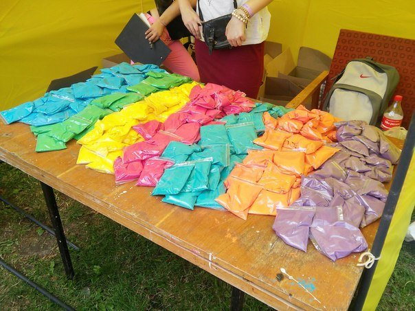 """У Парку культури відбувся фестиваль фарб """"Holiwood"""": як це було, фото-4"""