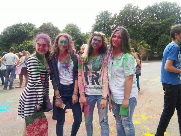 """У Парку культури відбувся фестиваль фарб """"Holiwood"""": як це було, фото-3"""