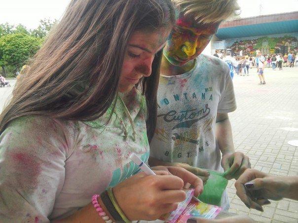 """У Парку культури відбувся фестиваль фарб """"Holiwood"""": як це було, фото-5"""