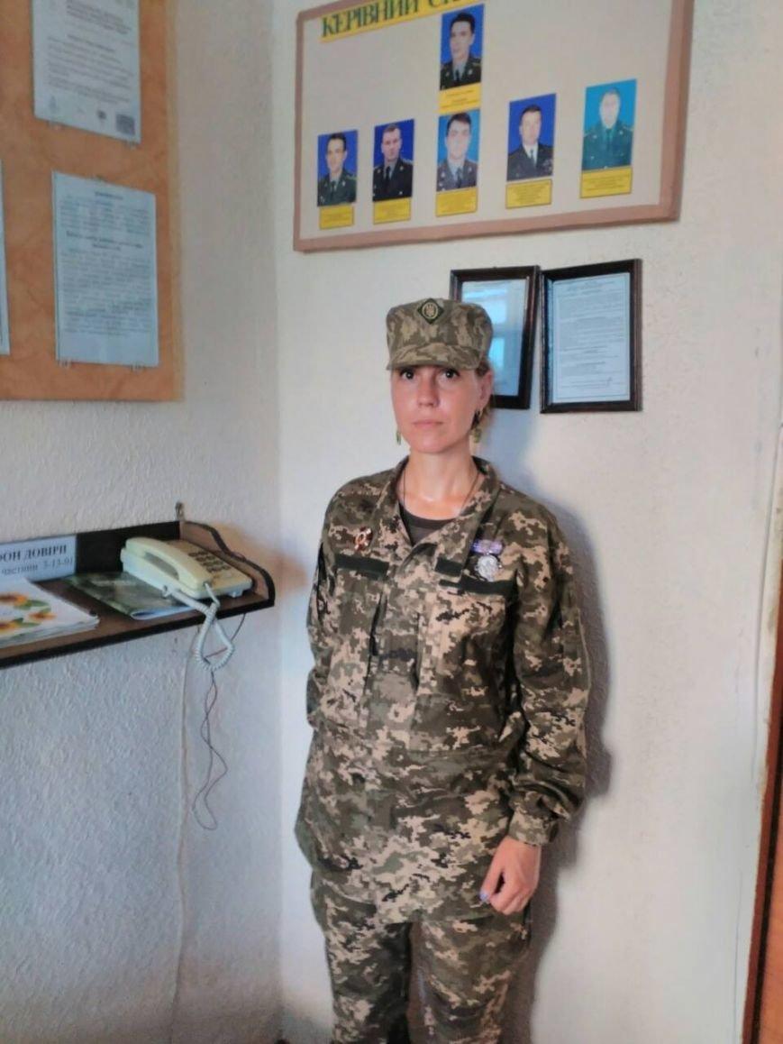 Известный запорожский волонтер Екатерина Матюха пошла служить в АТО, фото-1