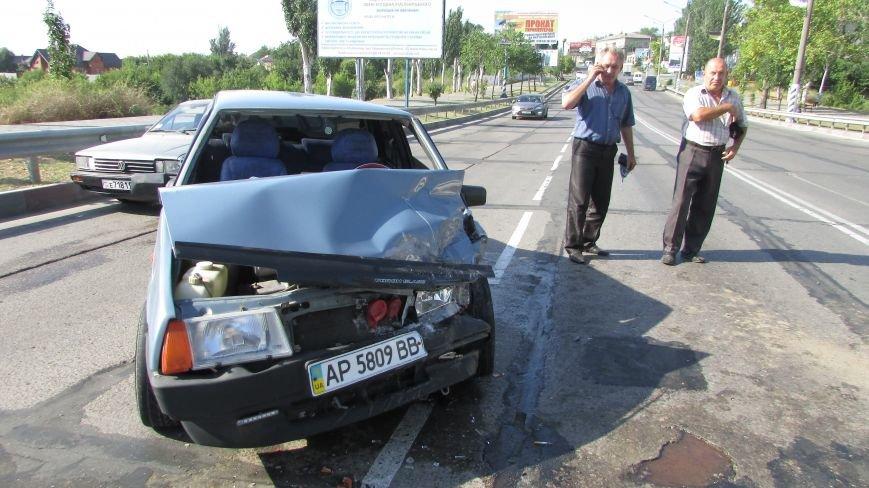 В Мелитополе на дамбе произошло очередное ДТП (фото), фото-6