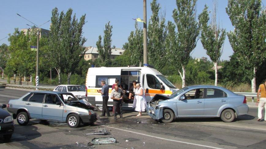 В Мелитополе на дамбе произошло очередное ДТП (фото), фото-2