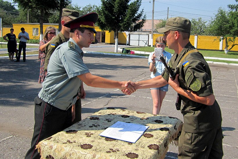 В Сумах новобранцы приняли присягу на верность украинскому народу (ФОТО), фото-2