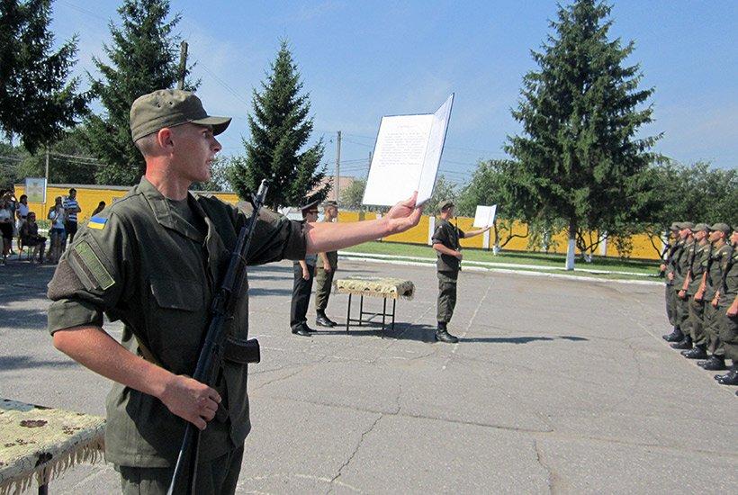 В Сумах новобранцы приняли присягу на верность украинскому народу (ФОТО), фото-1