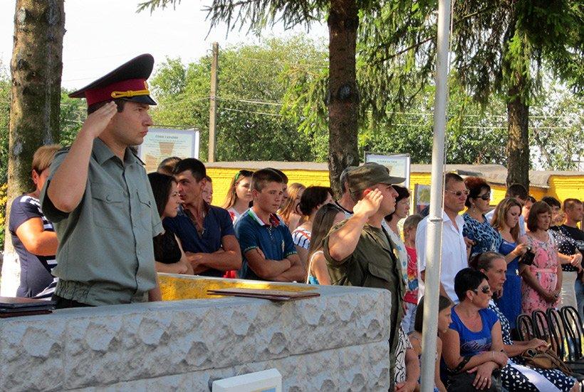 В Сумах новобранцы приняли присягу на верность украинскому народу (ФОТО), фото-4