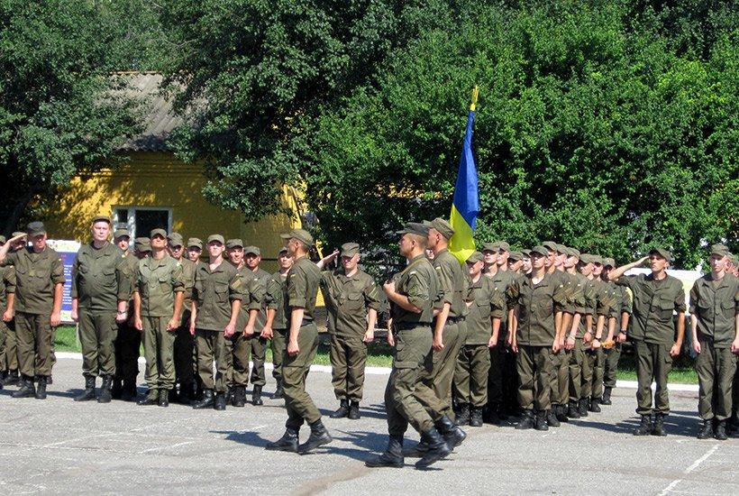 В Сумах новобранцы приняли присягу на верность украинскому народу (ФОТО), фото-3