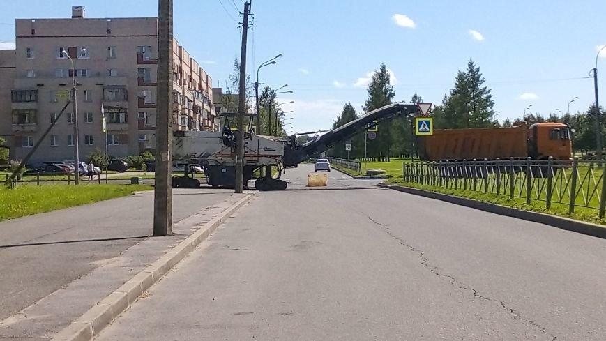 На тротуарах улицы Генерала Хазова срезан асфальт, фото-4
