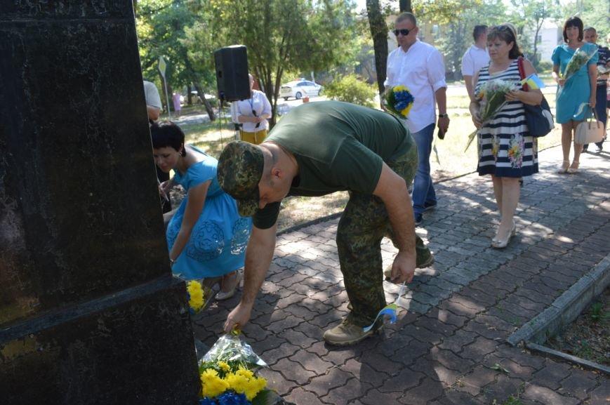 В Северодонецке отметили 26-ую годовщину Декларации о суверенитете Украины (ФОТО), фото-5