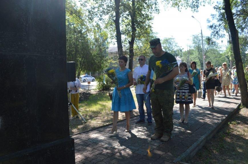 В Северодонецке отметили 26-ую годовщину Декларации о суверенитете Украины (ФОТО), фото-4