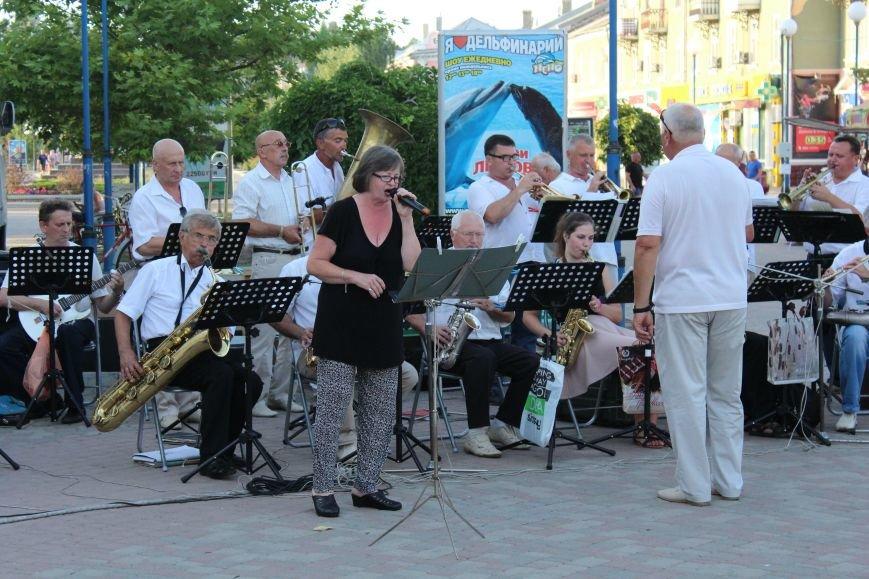 Концерт «Азовской чайки» прошел в Бердянске, фото-3