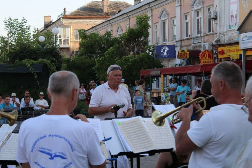 Концерт «Азовской чайки» прошел в Бердянске, фото-2