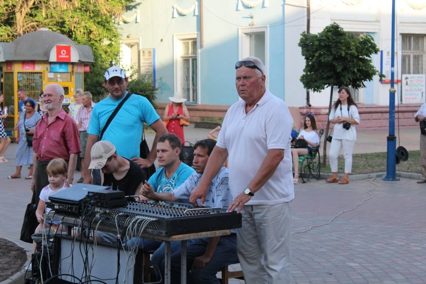 Концерт «Азовской чайки» прошел в Бердянске, фото-5