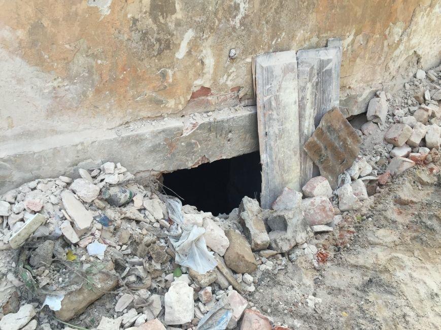 Из-за сноса заброшенного здания, в центре Харькова может рухнуть жилой дом (ФОТО), фото-6