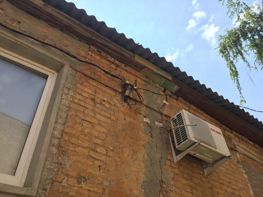 Из-за сноса заброшенного здания, в центре Харькова может рухнуть жилой дом (ФОТО), фото-10