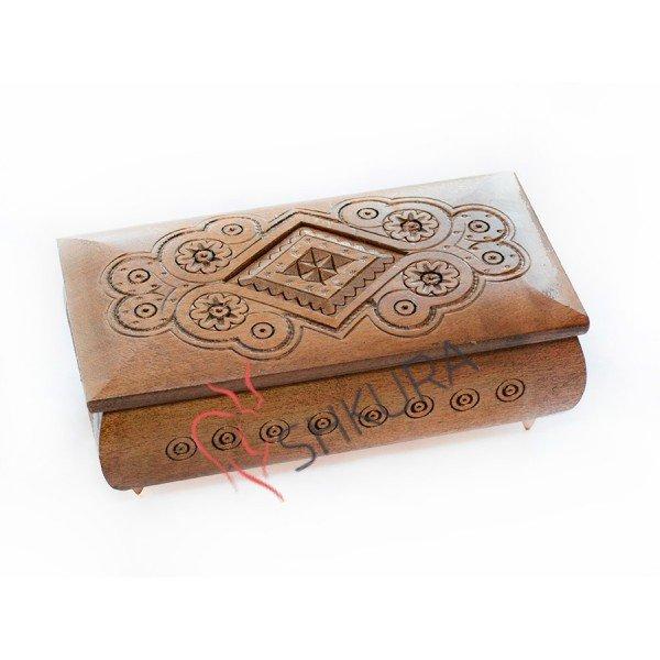 «Деревянная» классика жанра: шкатулки, ключицы, купюрницы, фото-1
