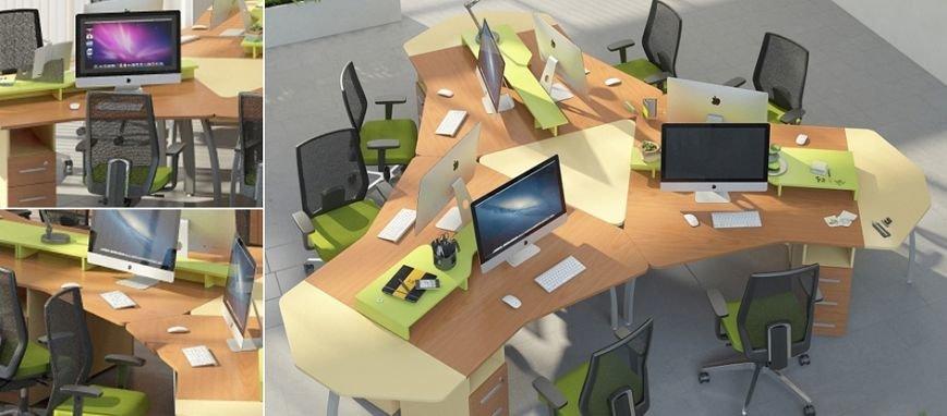 Готовая офисная мебель со склада
