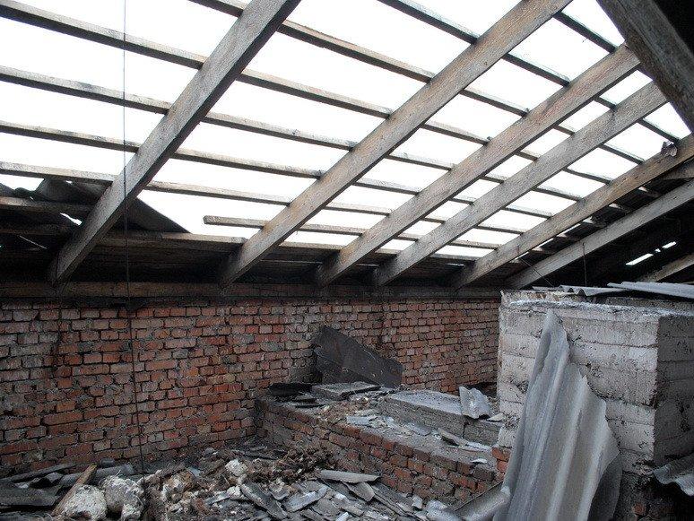 На Сумщине ураган посрывал крыши с домов и школ (ФОТО), фото-9