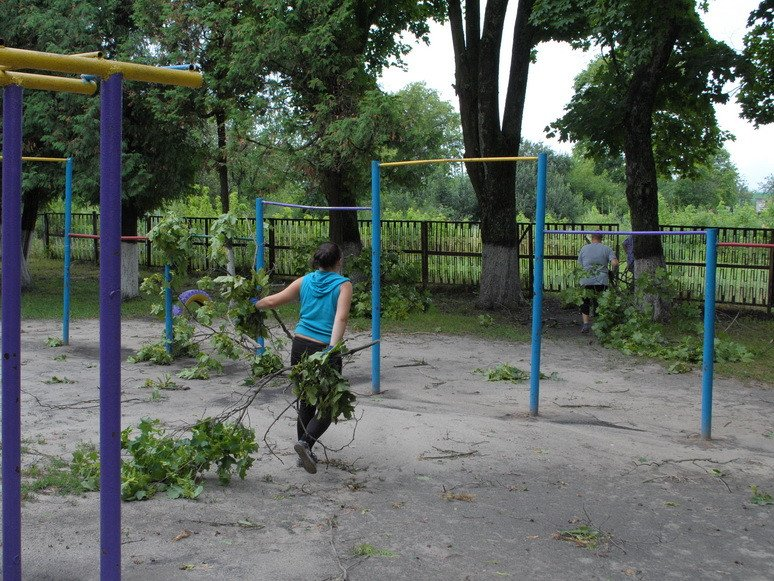На Сумщине ураган посрывал крыши с домов и школ (ФОТО), фото-5