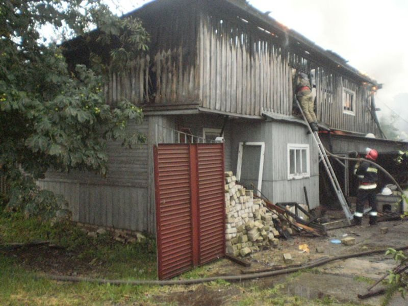 На Сумщине гроза стала причиной двух пожаров (ФОТО), фото-2