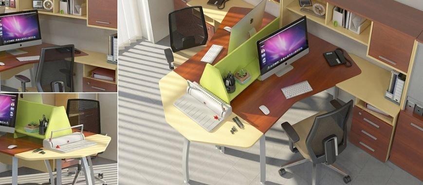 Офисная мебель на железных ножках