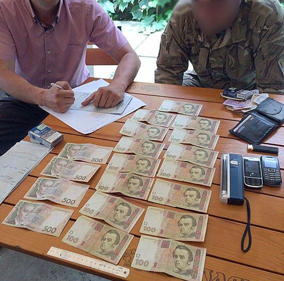 Деталі затримання працівника Мукачівського військового комісаріату: фото, фото-1
