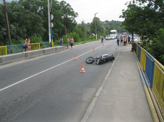 ДТП на Сумщине: мать с ребенком попали под колеса мотоцикла (ФОТО), фото-2