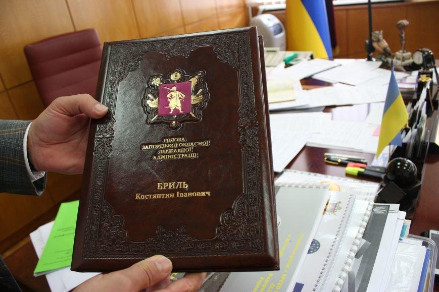 Рабочий стол запорожского губернатора: какими предметами окружил себя Константин Брыль, фото-13