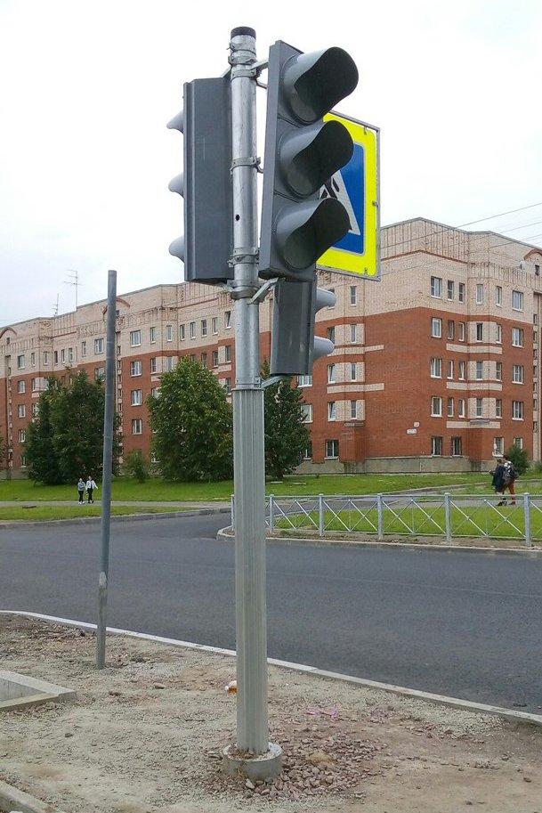Новые светофоры на улице Генерала Хазова в Пушкине скоро заработают, фото-1