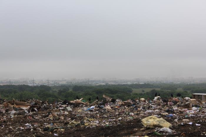 Один день из жизни южносахалинского мусоровоза, фото-8