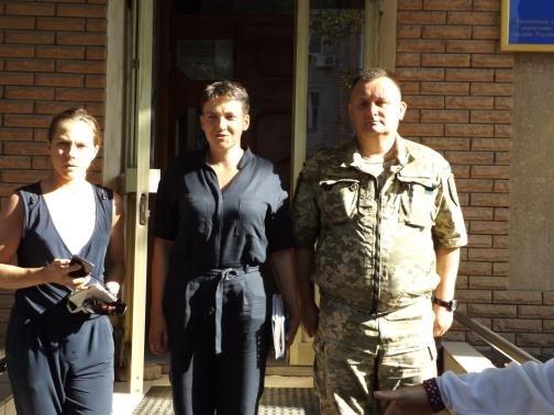 СИЗО Бахмута посетила Народный депутат Украины Надежда Савченко, фото-4