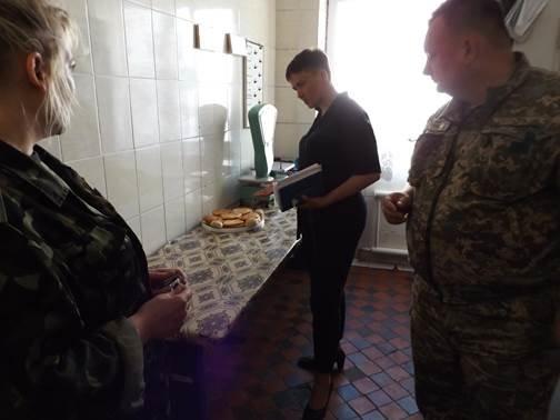 СИЗО Бахмута посетила Народный депутат Украины Надежда Савченко, фото-2
