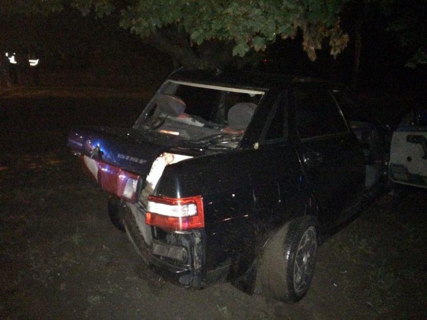 На Салтовке столкнулись два автомобиля: трое пострадавших (ФОТО), фото-2