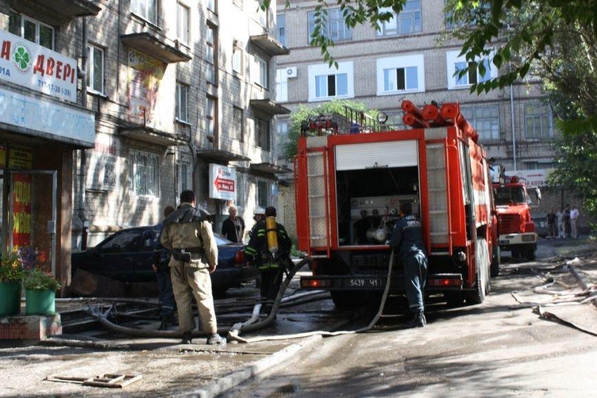 В Запорожье вспыхнул пожар в общежитии - эвакуировали 30 человек (ФОТО), фото-4