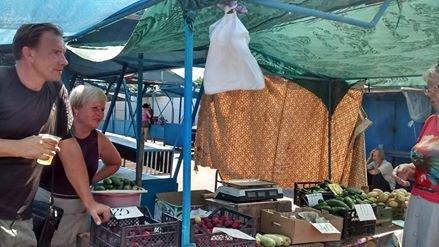 Криворожские чиновники проверяли яйца и мясо на рынке города (ФОТО), фото-1