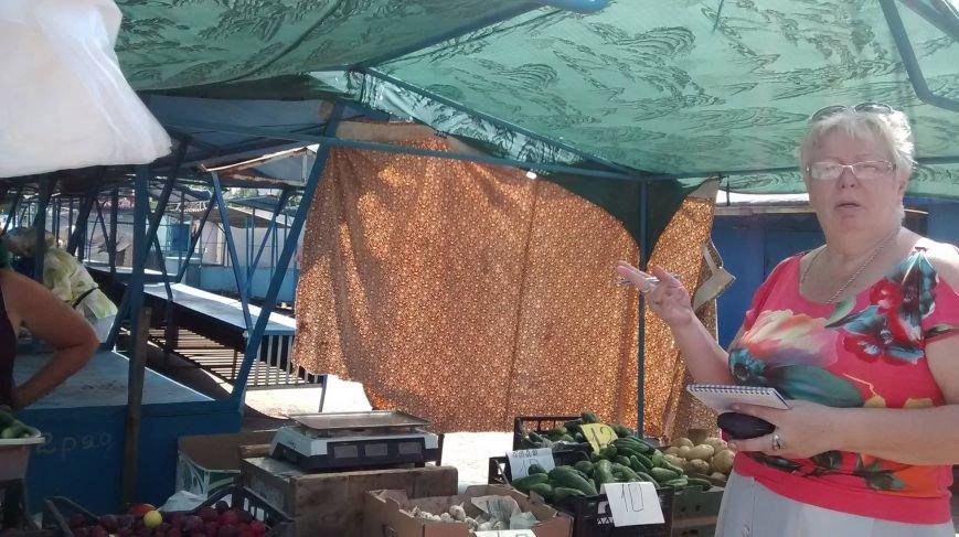 Криворожские чиновники проверяли яйца и мясо на рынке города (ФОТО), фото-2