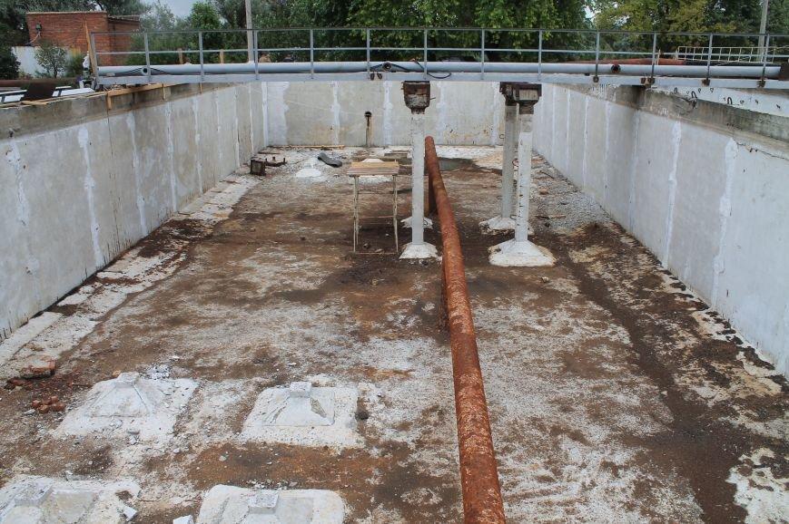 В Бахмуте продолжают реконструкцию очистных сооружений (ФОТО), фото-6