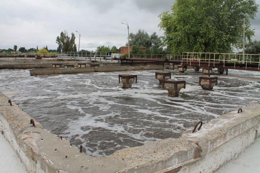 В Бахмуте продолжают реконструкцию очистных сооружений (ФОТО), фото-5