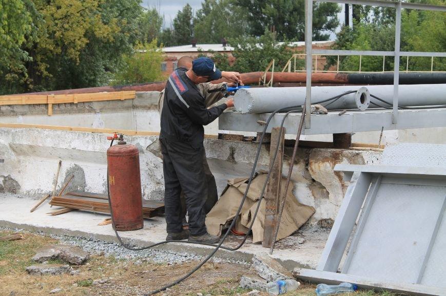 В Бахмуте продолжают реконструкцию очистных сооружений (ФОТО), фото-8