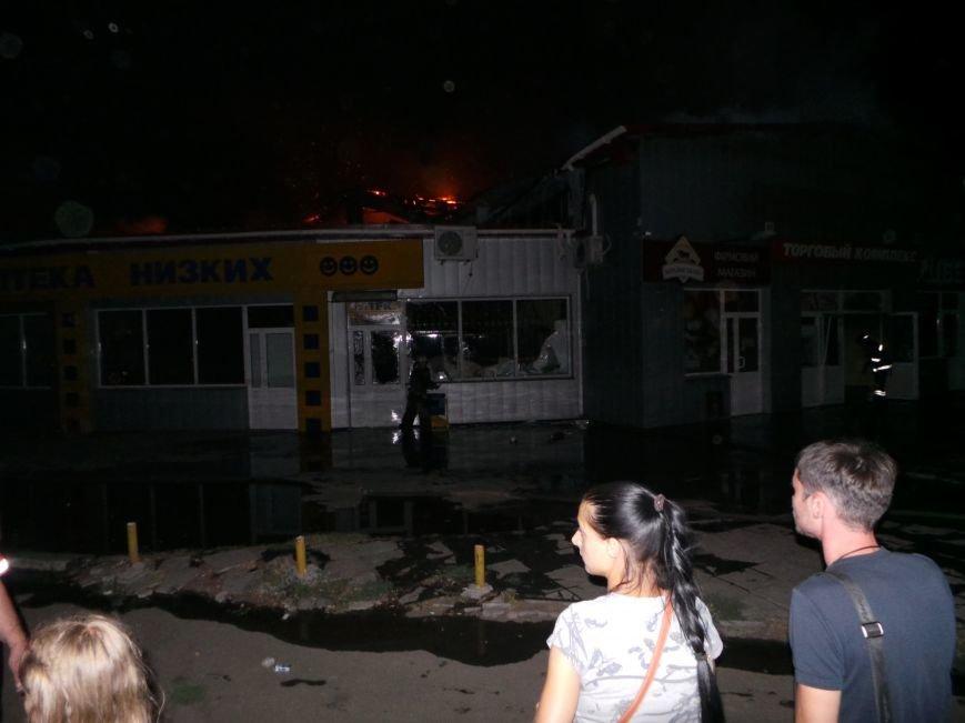 Пожар на кировском рынке в Бердянске оперативно ликвидирован, фото-4