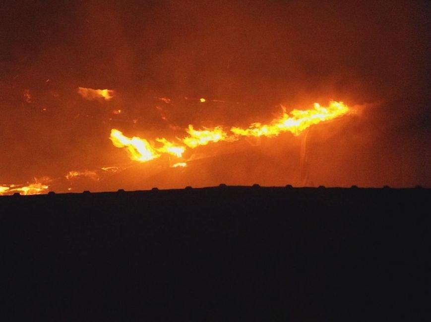 Пожар на кировском рынке в Бердянске оперативно ликвидирован, фото-1