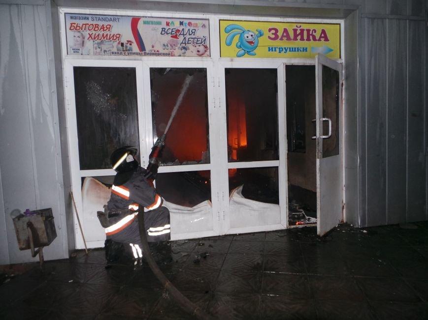 Пожар на кировском рынке в Бердянске оперативно ликвидирован, фото-8