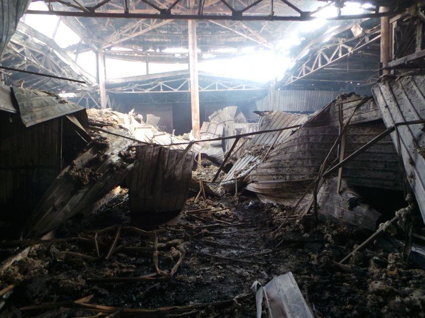 Пожар на кировском рынке в Бердянске оперативно ликвидирован, фото-10