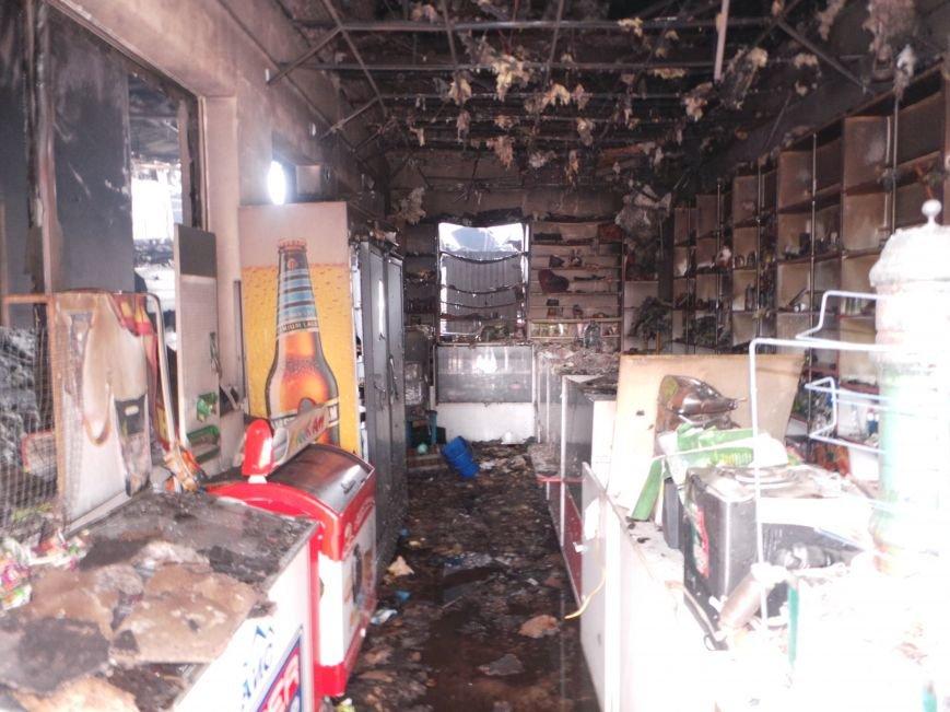 Пожар на кировском рынке в Бердянске оперативно ликвидирован, фото-12