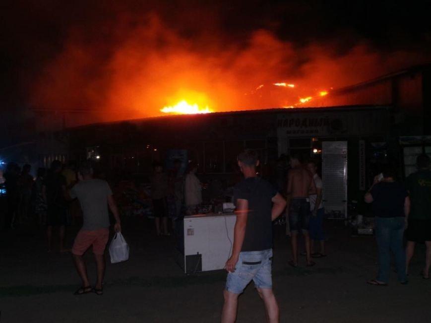 Пожар на кировском рынке в Бердянске оперативно ликвидирован, фото-2