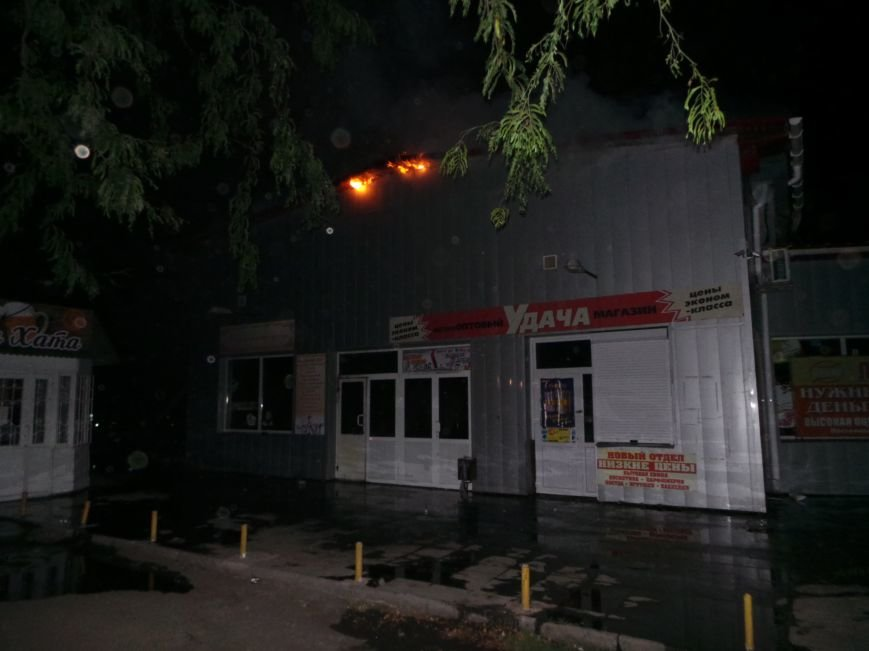 Пожар на кировском рынке в Бердянске оперативно ликвидирован, фото-5
