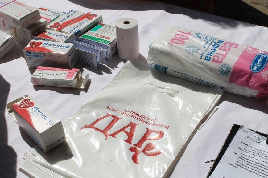 Жителям Забахмутки оказали медицинские услуги в мобильной амбулатории, фото-7