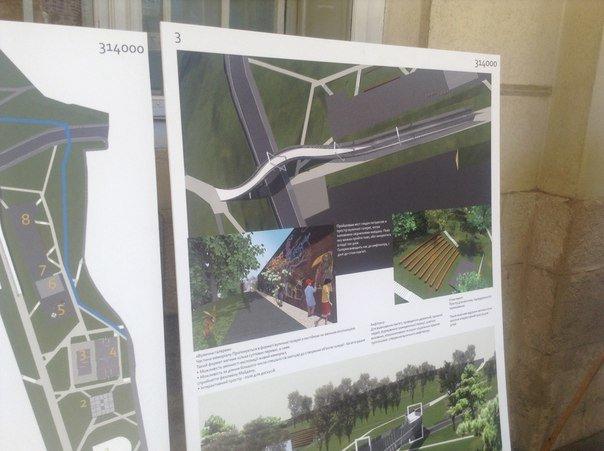 На конкурсі проекту з облаштування громадського простору пам'яті Небесної сотні було представлено лише 6 робіт (ФОТО), фото-4