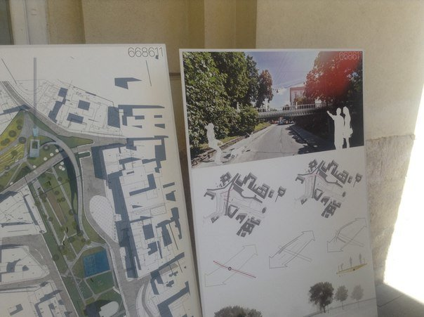 На конкурсі проекту з облаштування громадського простору пам'яті Небесної сотні було представлено лише 6 робіт (ФОТО), фото-9